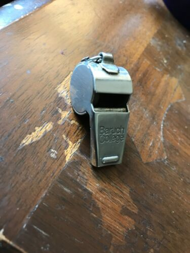 Vintage Baruch College Whistle - Rare