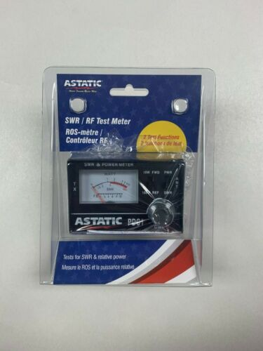 Astatic PDC1 100 Watt SWR Meter 10 watt and 100 watt switches