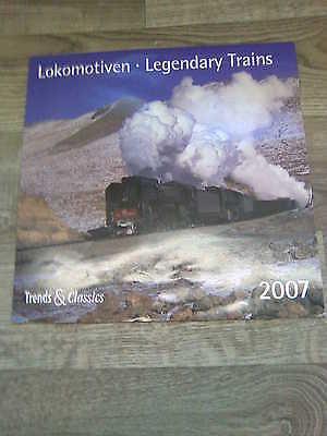 """Kalender-Eisenbahnkalender """"Lokomotiven"""" *15319"""