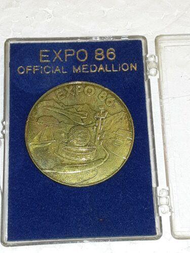 1986 CANADA EXPO MEDAL