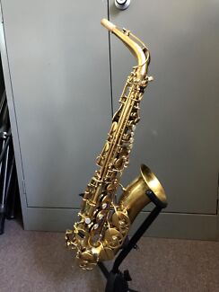 Buffet S2 alto saxophone, recent overhaul, black roo pads, more..