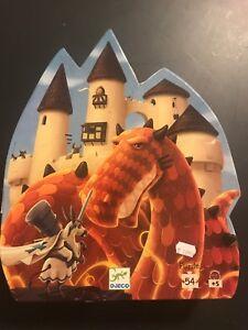Dragon puzzle, large 54 pieces