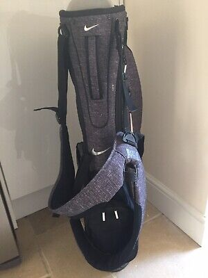 Nike Sport Lite Golf Carry Bag (Grey) /w Stand / 5-Way Divider - Used in VGC