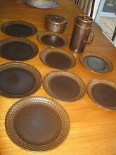 Wedgwood retro Pennine plates, casserole & Sterling coffeepot Wayville Unley Area Preview