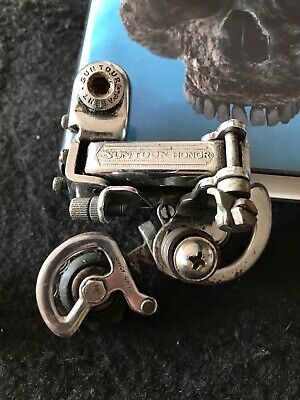 Second Generation New-Old-Stock Shimano RX100 Front Derailleur...28.6 mm Clamp