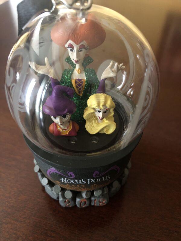 Disney Hocus Pocus Retired Mini Snow Globe - 25 Years of Hocus Pocus