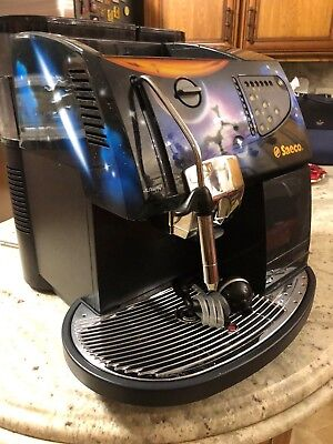 Saeco Bewitching De Luxe Hand Painted Espresso, Cappuccino and Coffee Machine