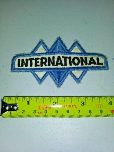 VINTAGE Embroidered Automotive Gasoline Patch UNUSED - INTERNATIONAL small