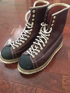 JB Goodhue Ironworker Steel Toe Safety Boots Sz 11