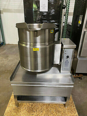 Cleveland Ket-12-tp 12 Gallon Tilting 23 Steam Jacketed Electric Kettle