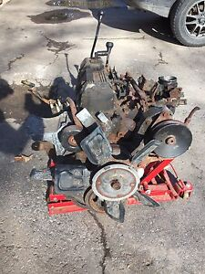 Jeep yj engine, transmission and transfer case