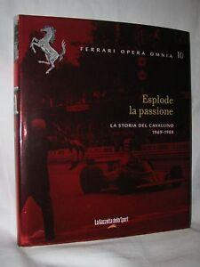 LIBRO-FERRARI-OPERA-OMNIA-N-10-ESPLODE-LA-PASSIONE-LA-STORIA-DEL-CAVALLINO