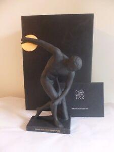 Wedgwood Black Jasper London Olympiad 2012 Figurine Olympics Boxed New Rare