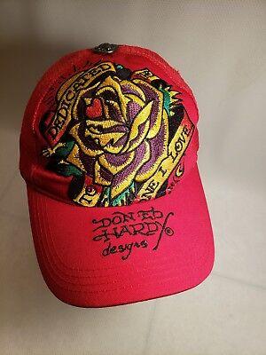 Don Ed Hardy Design Baseball Cap Snapback Adjustable Cotton Blend Multicolor Hat