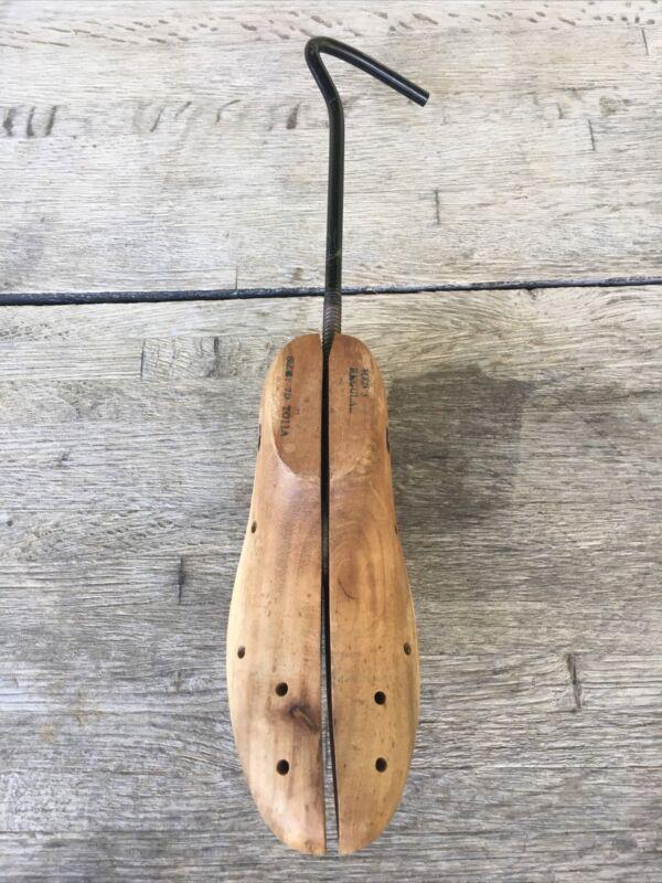 Antique Wooden Shoe Stretcher Men's Size 7