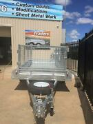 10x5 Galvanised Tandem Trailer INCLUDES CAGE !!!!!!! Para Hills West Salisbury Area Preview