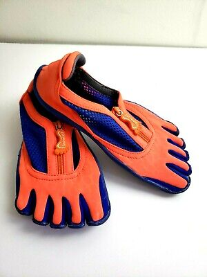 Fut Glove Cross Training Shoes Womens Size 7.5/ 38 Orange Blue