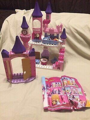 Duplo Disney Princess Cinderella's Castle Prince Charming #6154 Retired Lego