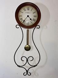 Howard Miller 625-497 Kersen Wall Clock -Model #625-497 -S/N: kJ 209671002