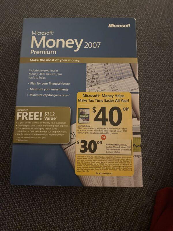 Microsoft Money 2007 Premium