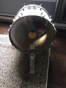 Bass/Kick drum and pedal