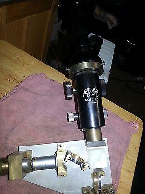 Vintage Carl Zeissjenawinkel Microscope No.275197 Leica Objective10x0.25