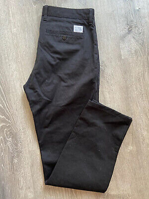 Norse Projects Aros Heavy Black Pants Size 33 X 31