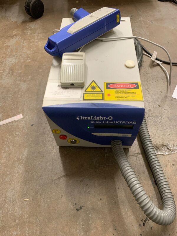 Sandstone Ultralight Q Q-Switched KTP / YAG Tattoo Removal Laser Machine NO KEY!