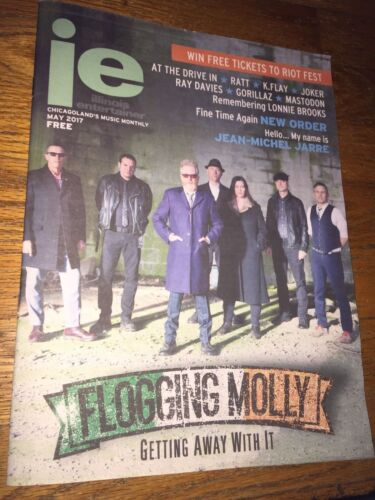 Illinois Entertainer Monthly(May 2017) Flogging Molly [cover/feature]Joker_Ratt