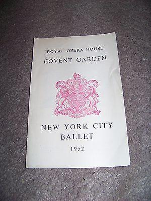 1952 Royal Opera House Covent Garden New York City Ballet Caracole Mozart