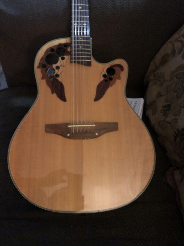 Ovation 12 String Guitar Celebrity Deluxe