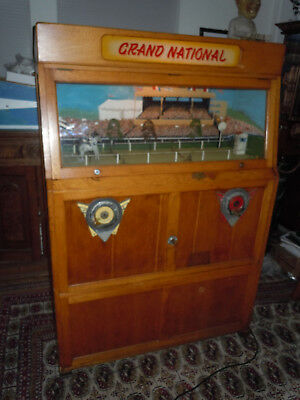 Ruffler and Walker Grand National 2 player Coin Operated Horse Race Arcade Game