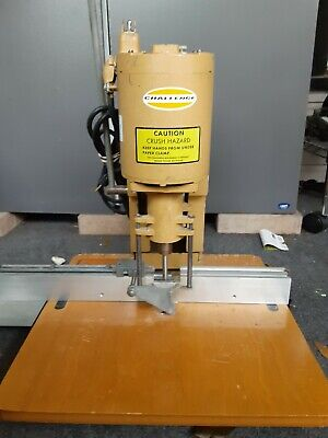 Challenge Model Jo Paper Drill Model J0 Paper Drilling Machine Tested Working