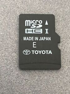 2014-2017 Toyota 4Runner RAV4 Limited XLE Navigation Micro SD HC Card Map 35015
