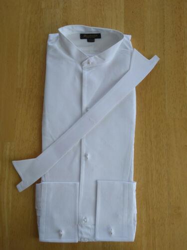 NWOT Brooks Brothers Golden Fleece Authentic Formal Shirt Wing Collar MSRP $225.