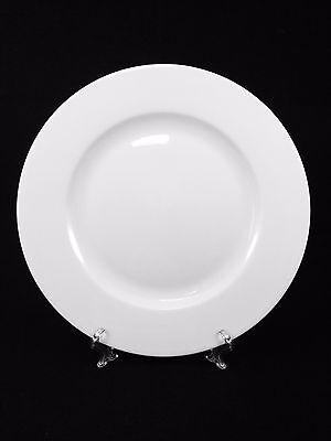 Angebot 30 x Teller flach Menüteller ca. 27cm weiß Porzellan TOP für Gastro