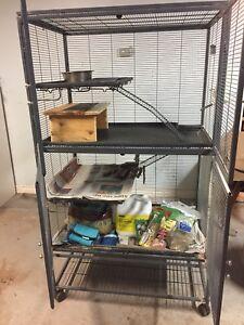 Pet cage - critter habitat