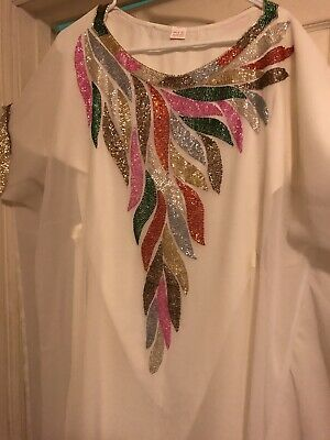 Royal Moroccan Kaftan Dubai Abaya Wedding Robe