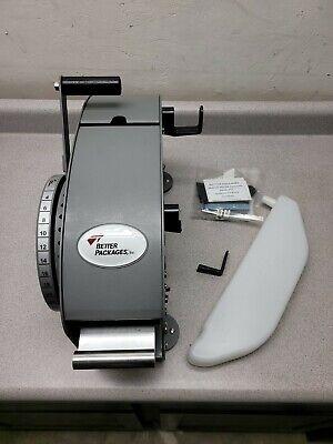Better Pack 333 Plus Gummed Tape Dispenser Machine Hand Operated New W Minor Dmg