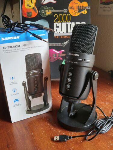 Samson G-Track Pro Wired Condenser Microphone- original packaging - mint