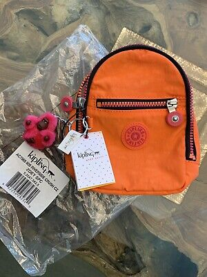 Kipling Zoey Riverside Crush Clip On Mini Backpack Case Pouch AC7868 - NWT