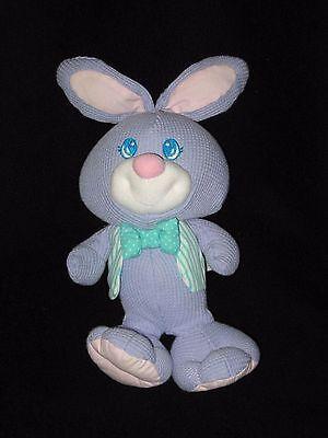 "Fisher Price Plush Cozies Bunny Thermal Stuffed Animal 10"" Vintage 1997"
