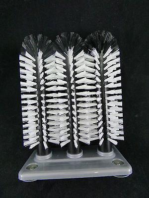 Gläserspülbürste Gläser Spülbürste Gläserbürste 3x25 cm Gläserspüler Nölle