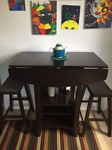 KOGE dinning table with 2 chairs- table de cuisine & 2 chaises