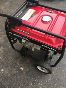 Honda Generator For Sale Like New!