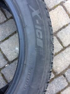 Pneus Michelin x ice  6/32 usure