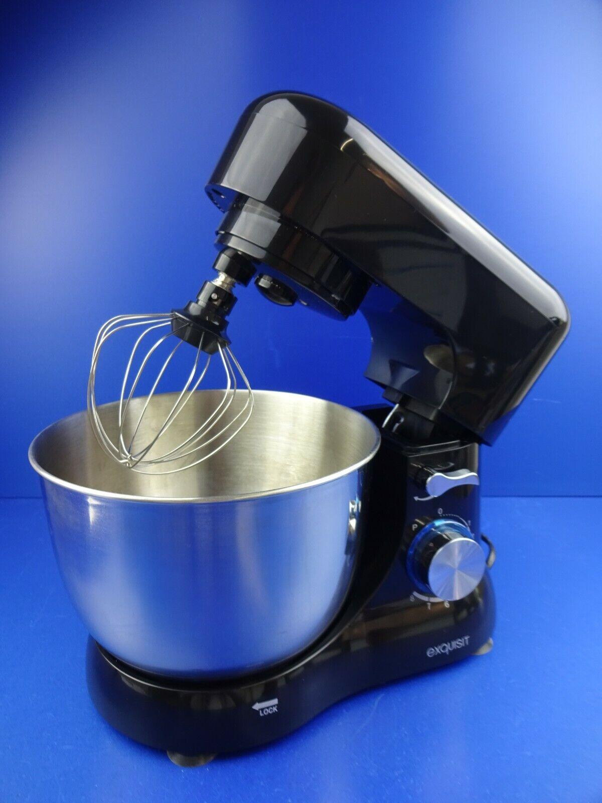 ANGEBOT Exquisit KM 3101 Küchenmaschine Rührmaschine Küchenhelfer Schwarz