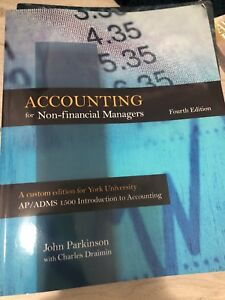 Accounting for non- financial managers