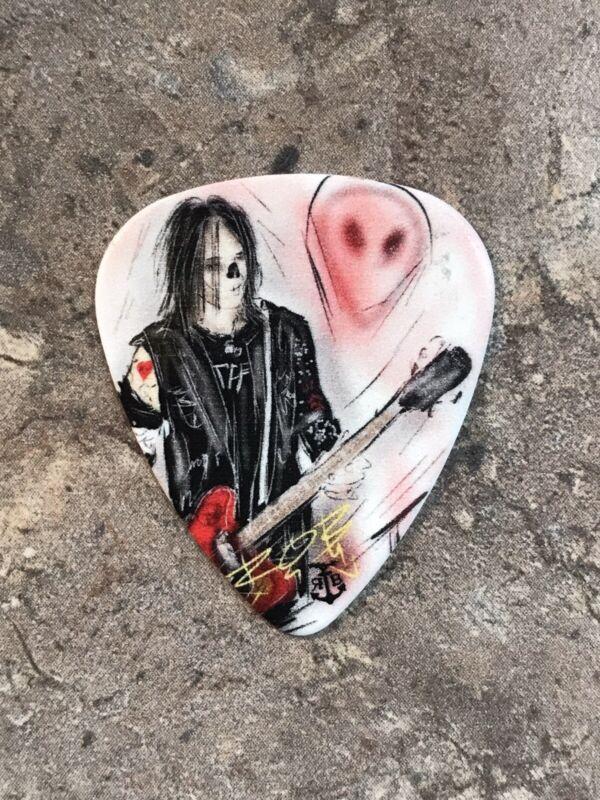 "Alice Cooper/ Hollywood Vampires ""Tommy Henriksen"" 2019 Tour Guitar Pick-Rare"