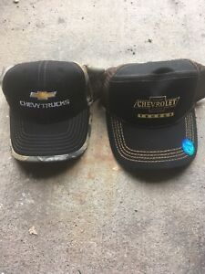 Brand new Chevy hats